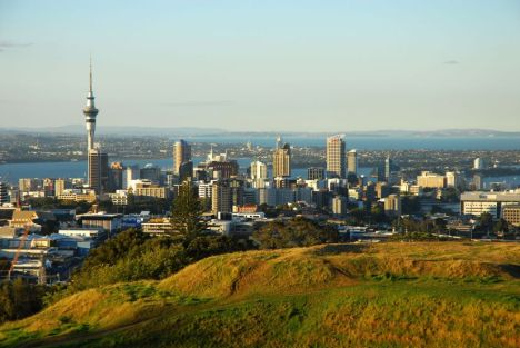 Auckland from Mt Eden